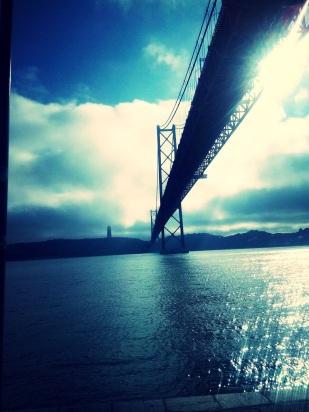 25 de Abril Bridge & Tagus River, Lisbon
