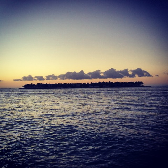 Sunset view from Mallory Square