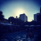 Sunset @ SLS Pool Party